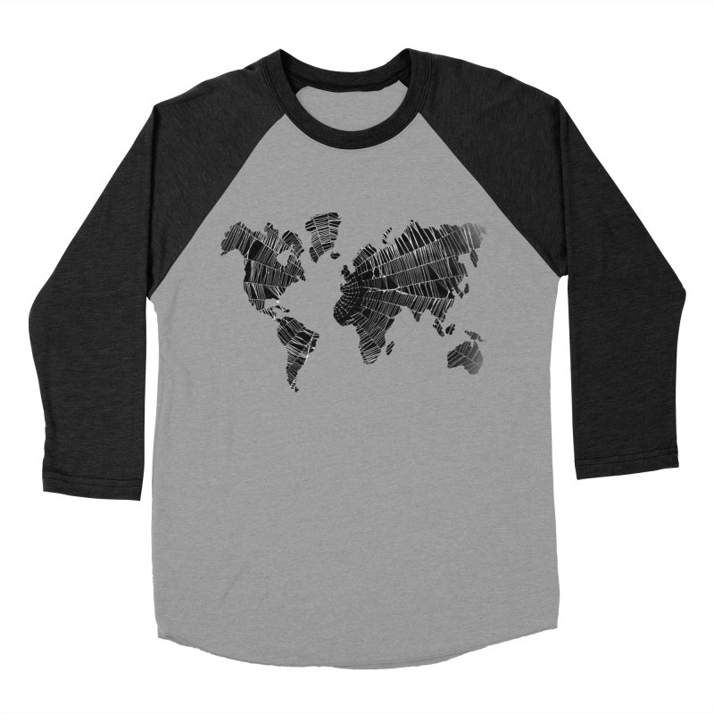 World Wide Web Women's Baseball Triblend T-Shirt by Made by MAD