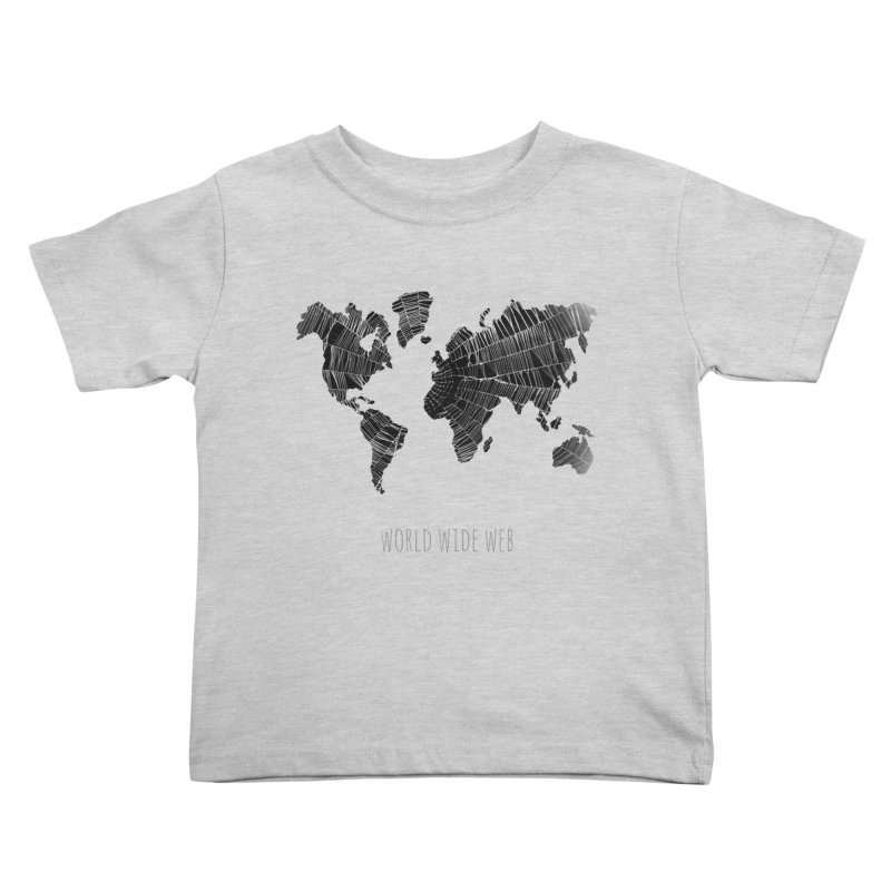 World Wide Web Kids Toddler T-Shirt by Made by MAD