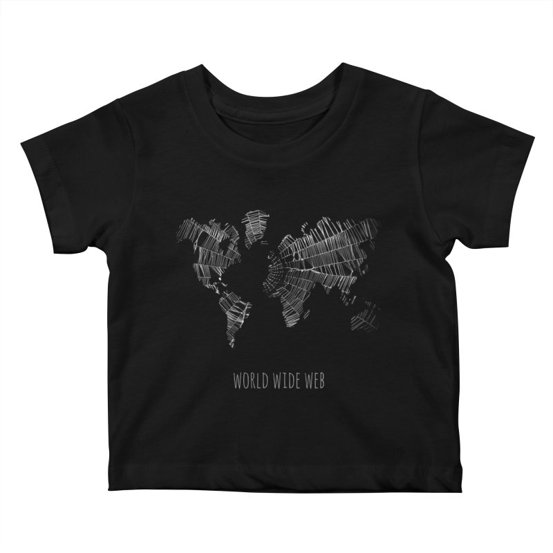 World Wide Web Kids Baby T-Shirt by Made by MAD
