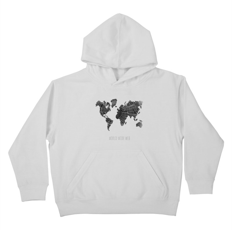 World Wide Web Kids Pullover Hoody by Made by MAD