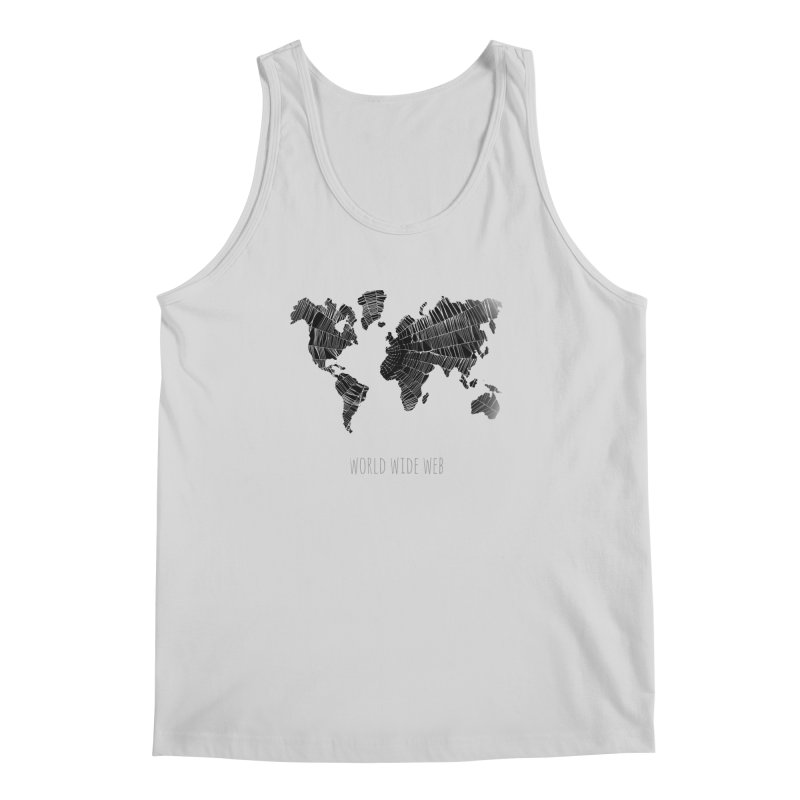 World Wide Web Men's Regular Tank by Made by MAD