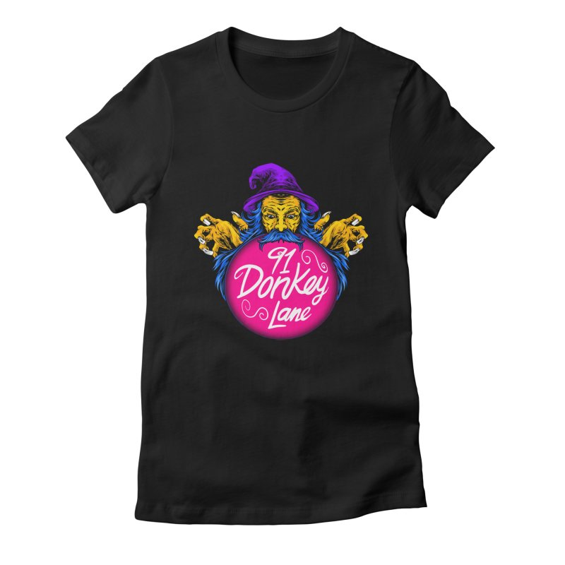 91 Donkey Lane Women's T-Shirt by Bits By Bacon