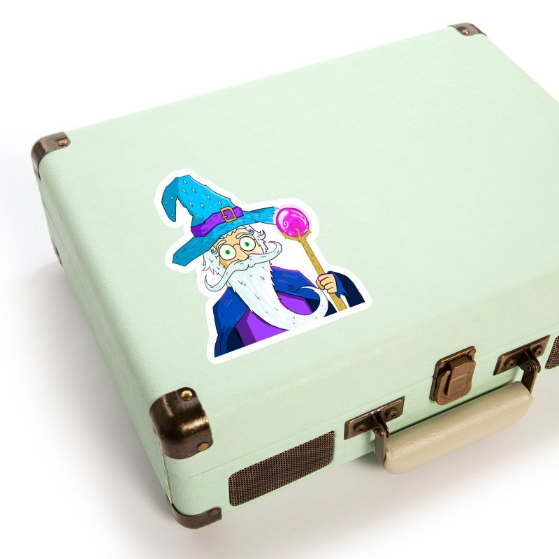 Rain The Wizard Accessories Sticker by Bits By Bacon