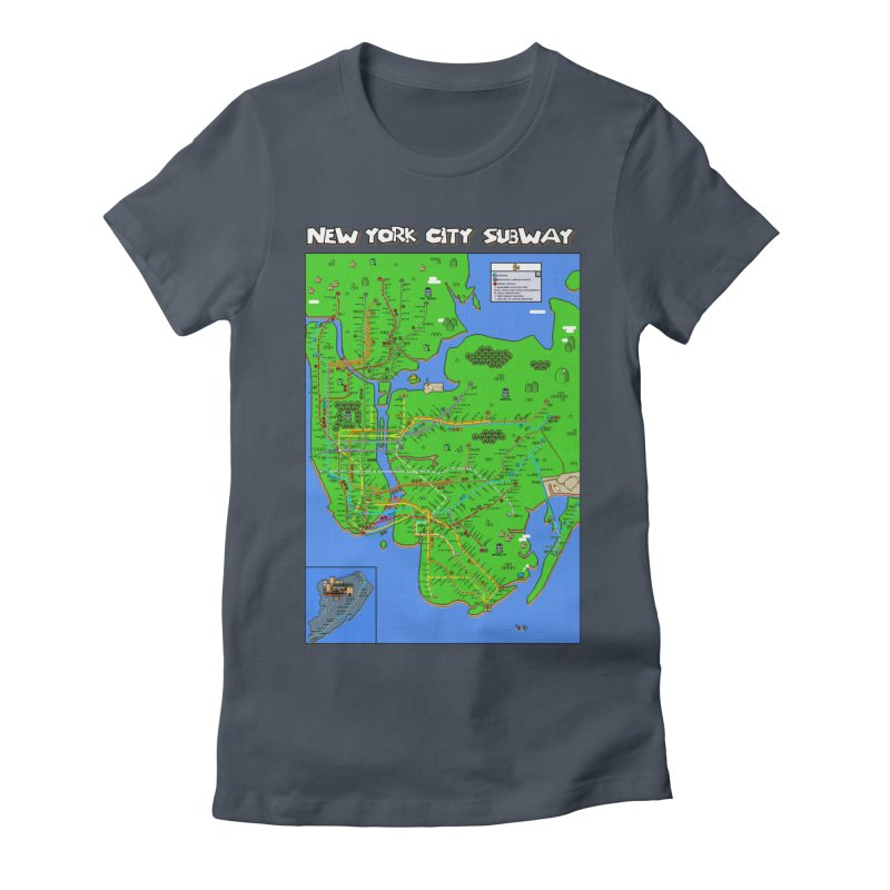 New york super mario world map mario maps new york super mario world map womens t shirt by mario maps gumiabroncs Images