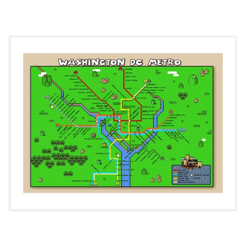 Washington Dc Super Mario Metro Map Mario Maps