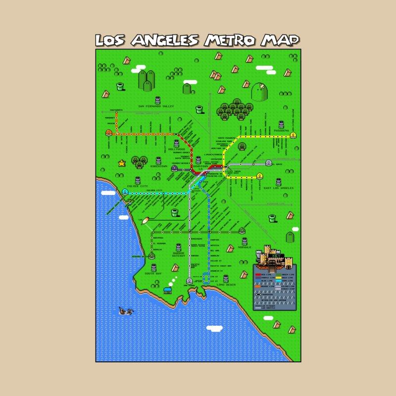 Los Angeles Super Mario World None  by Mario Maps