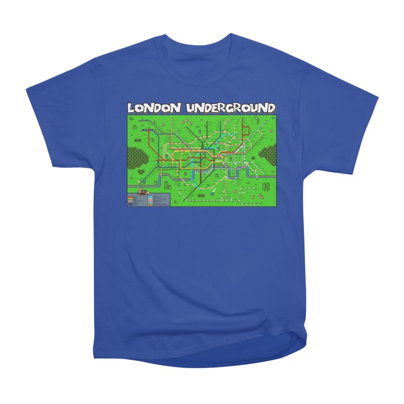 London Super Mario Map Men's Classic T-Shirt by Mario Maps