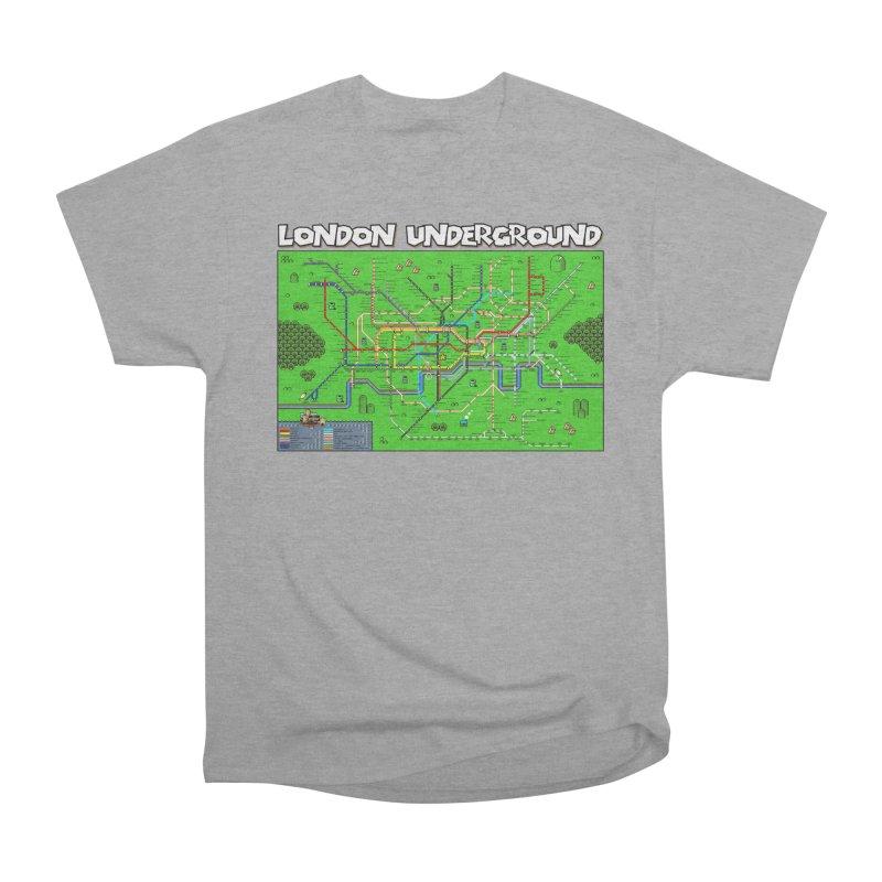 London Super Mario Map Women's Classic Unisex T-Shirt by Mario Maps