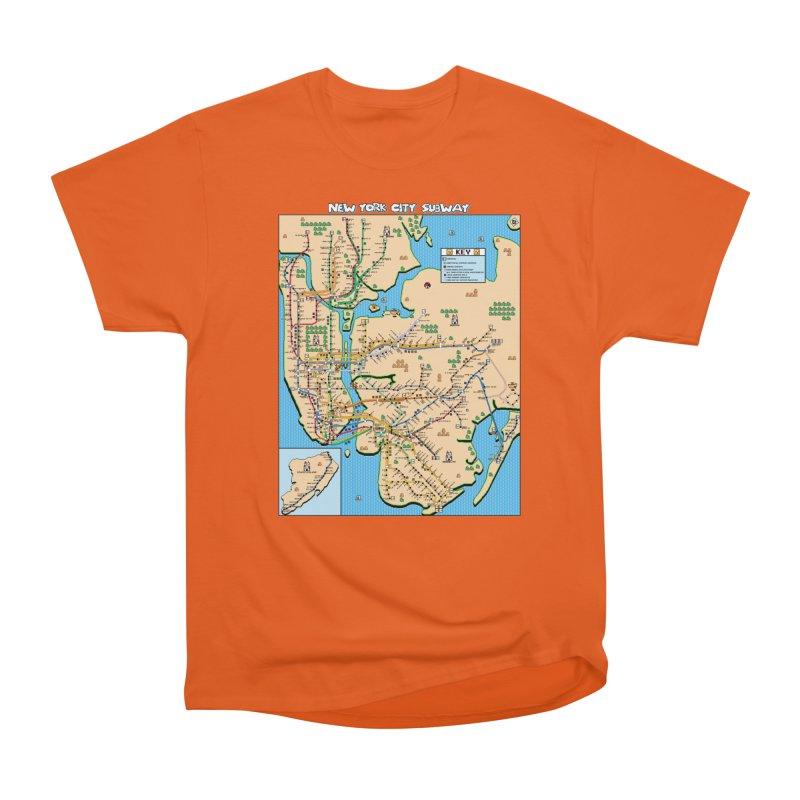 New York Super Mario 3 Men's T-Shirt by Mario Maps