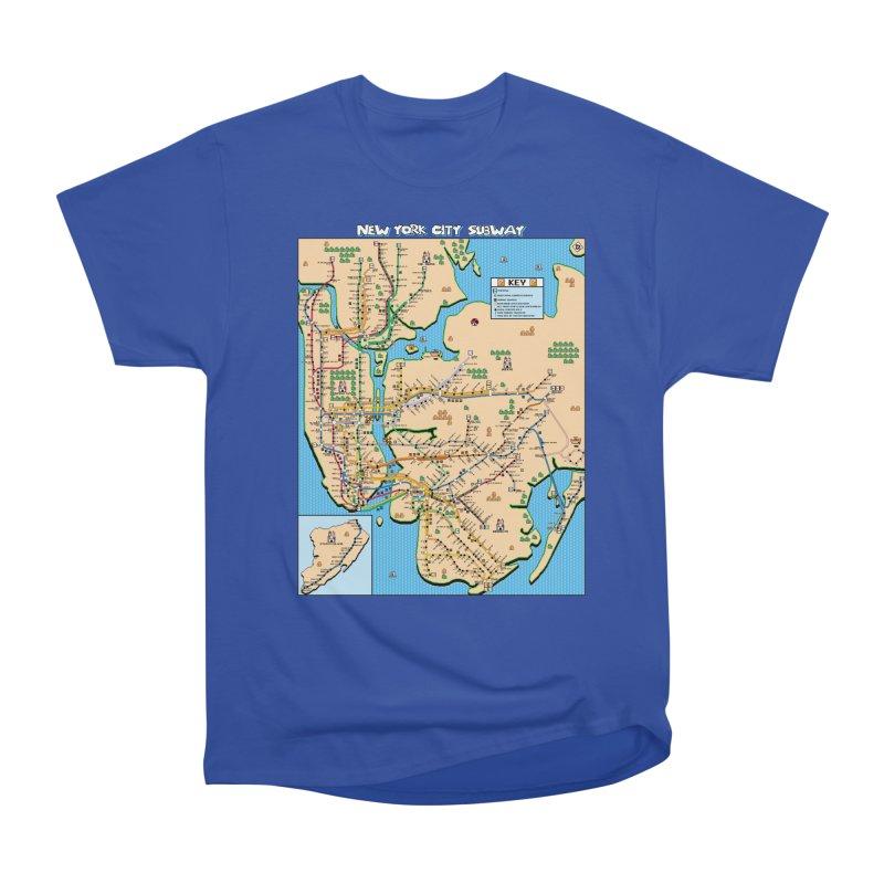 New York Super Mario 3 Men's Classic T-Shirt by Mario Maps