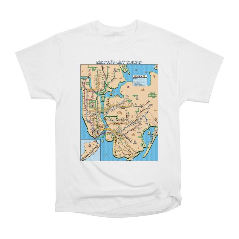 New York Super Mario 3 Women's Classic Unisex T-Shirt by Mario Maps