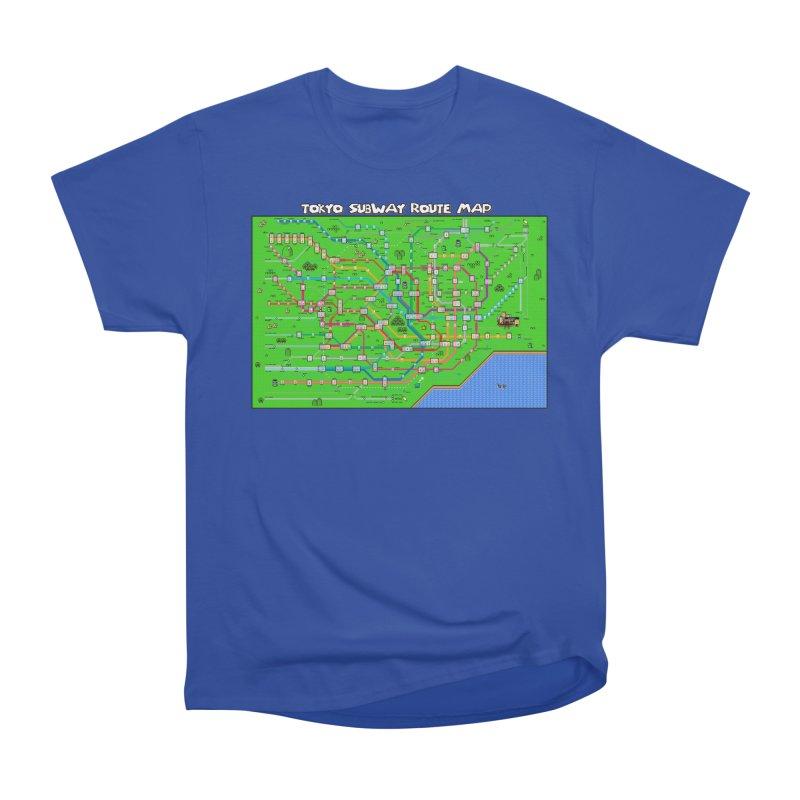 Tokyo Super Mario Map Men's Classic T-Shirt by Mario Maps
