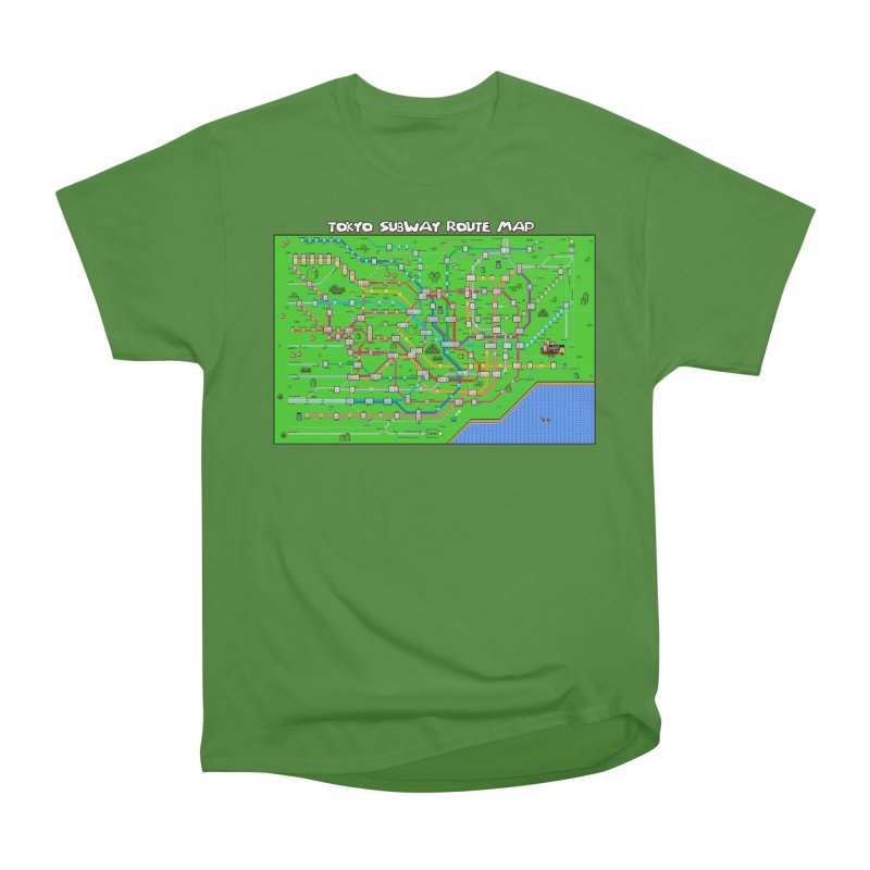 Tokyo Super Mario Map Men's Classic T-Shirt by Mario Maps