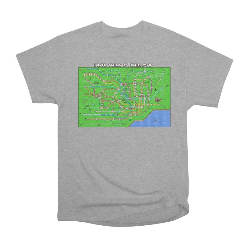Tokyo Super Mario Map Women's Classic Unisex T-Shirt by Mario Maps