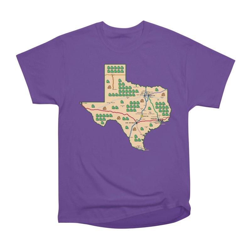 Texas Super Mario 3 Women's Classic Unisex T-Shirt by Mario Maps