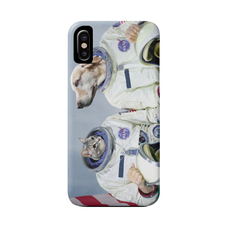 Best Friend Astronauts Accessories Phone Case by Mario Maps