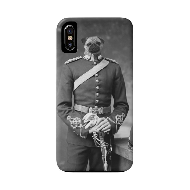 Sergeant Puppers Accessories Phone Case by Mario Maps