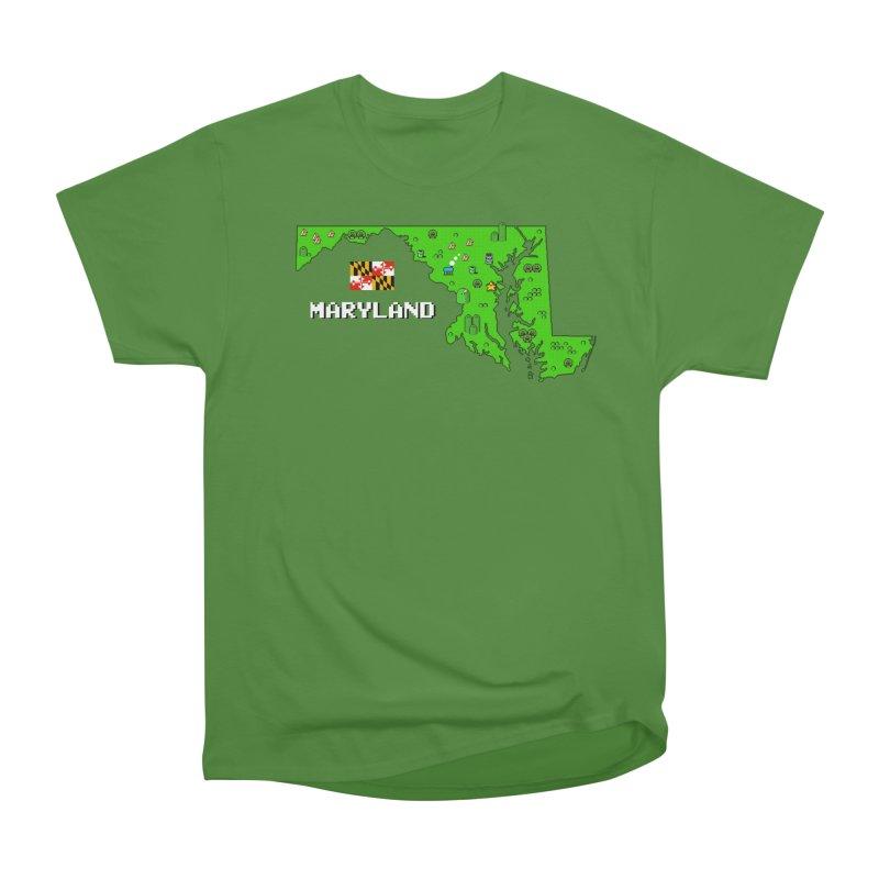 Maryland Super Mario World Men's Classic T-Shirt by Mario Maps