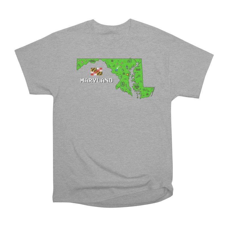 Maryland Super Mario World Women's Classic Unisex T-Shirt by Mario Maps
