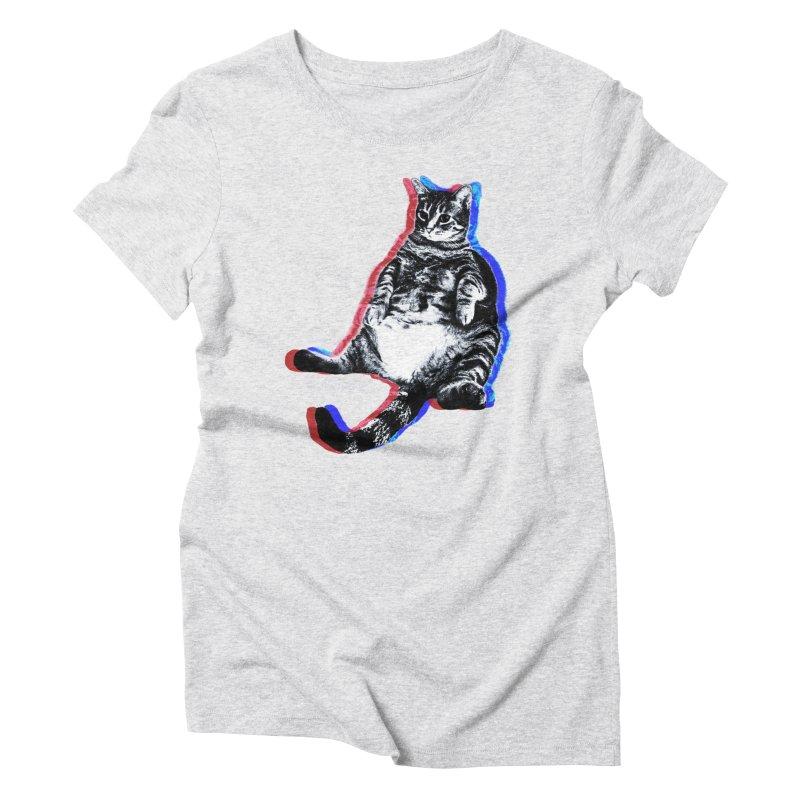 Patriotic Euro Women's Triblend T-Shirt by Mario Maps