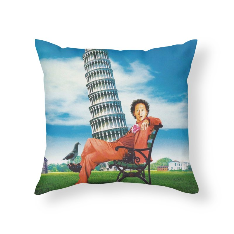 Deuce Bigalow Male Throw Pillow Home Throw Pillow by Mario Maps