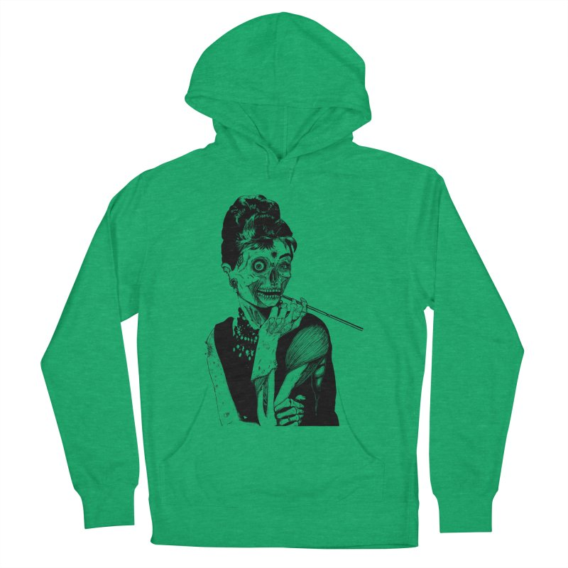 Zombie at Tiffany's Women's Pullover Hoody by marioncromb's Artist Shop