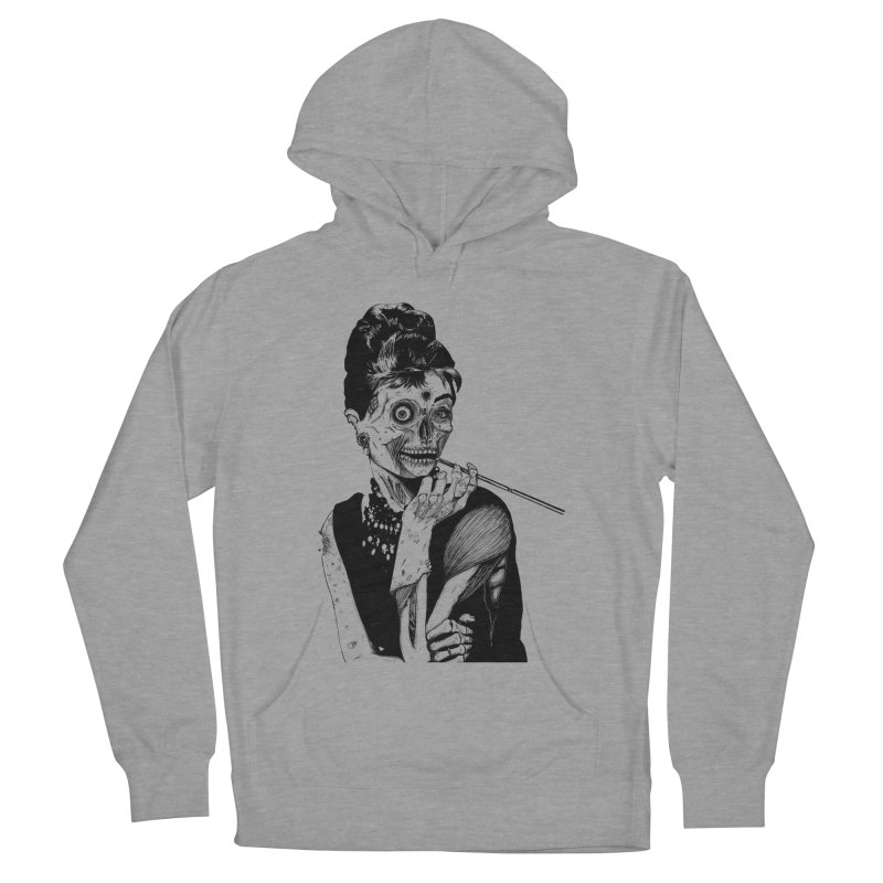 Zombie at Tiffany's Men's Pullover Hoody by marioncromb's Artist Shop