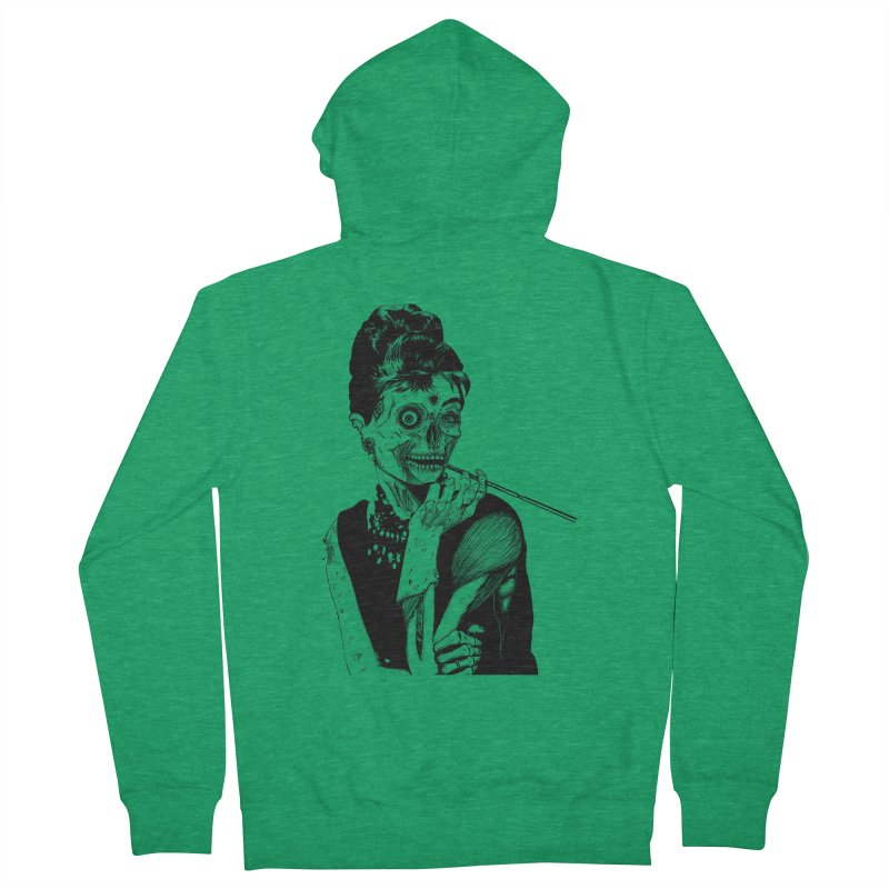 Zombie at Tiffany's Women's Zip-Up Hoody by marioncromb's Artist Shop