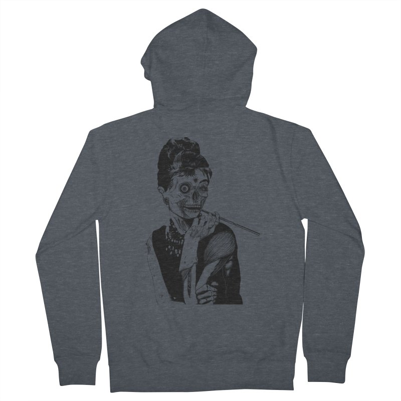 Zombie at Tiffany's Men's Zip-Up Hoody by marioncromb's Artist Shop