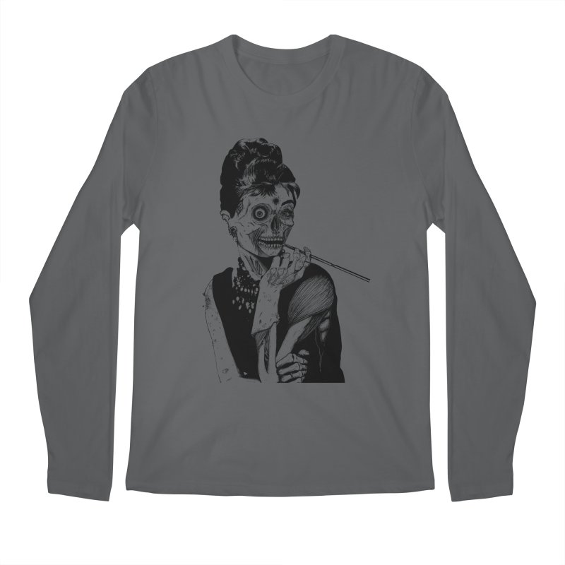 Zombie at Tiffany's Men's Longsleeve T-Shirt by marioncromb's Artist Shop