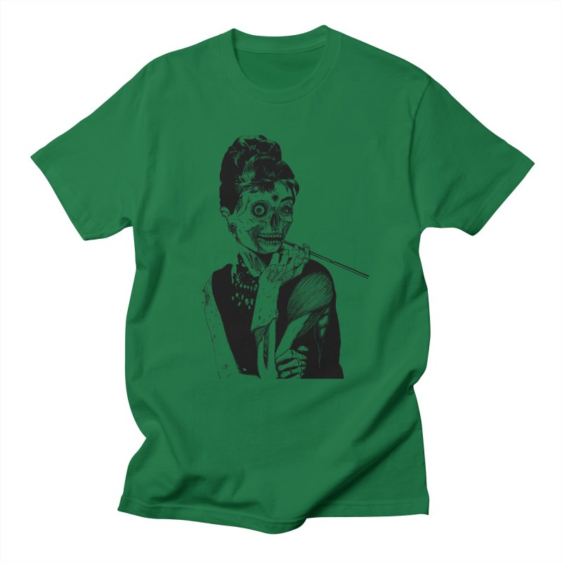 Zombie at Tiffany's Men's T-shirt by marioncromb's Artist Shop