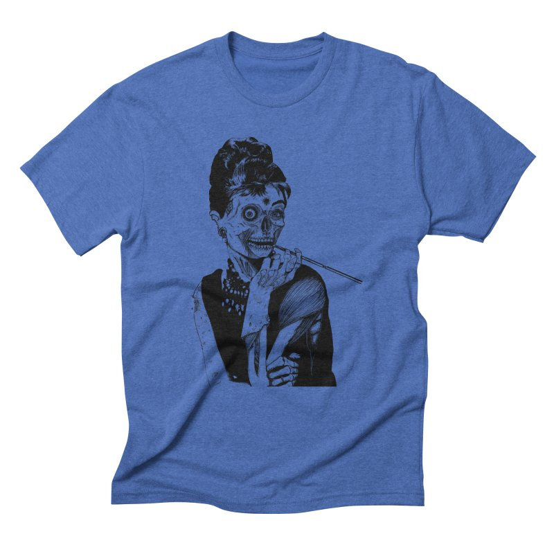 Zombie at Tiffany's Men's Triblend T-shirt by marioncromb's Artist Shop