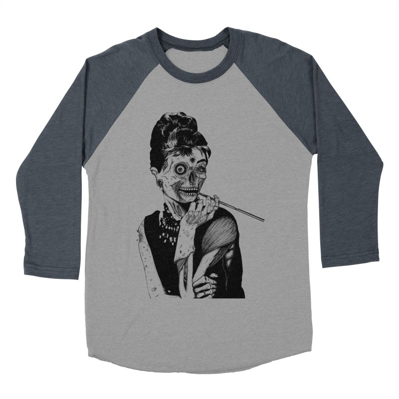 Zombie at Tiffany's Women's Baseball Triblend T-Shirt by marioncromb's Artist Shop