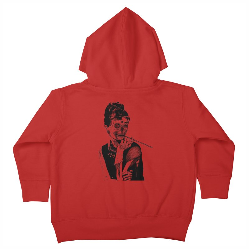 Zombie at Tiffany's Kids Toddler Zip-Up Hoody by marioncromb's Artist Shop