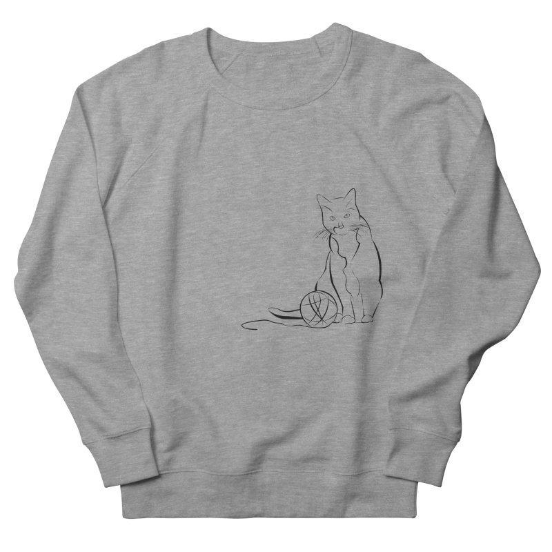 Yarn. Really? in Women's Sweatshirt Heather Graphite by Dreamspring