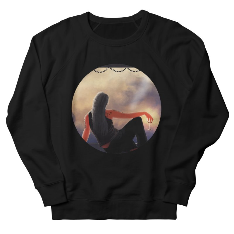 On Top of the World in Women's Sweatshirt Black by Dreamspring