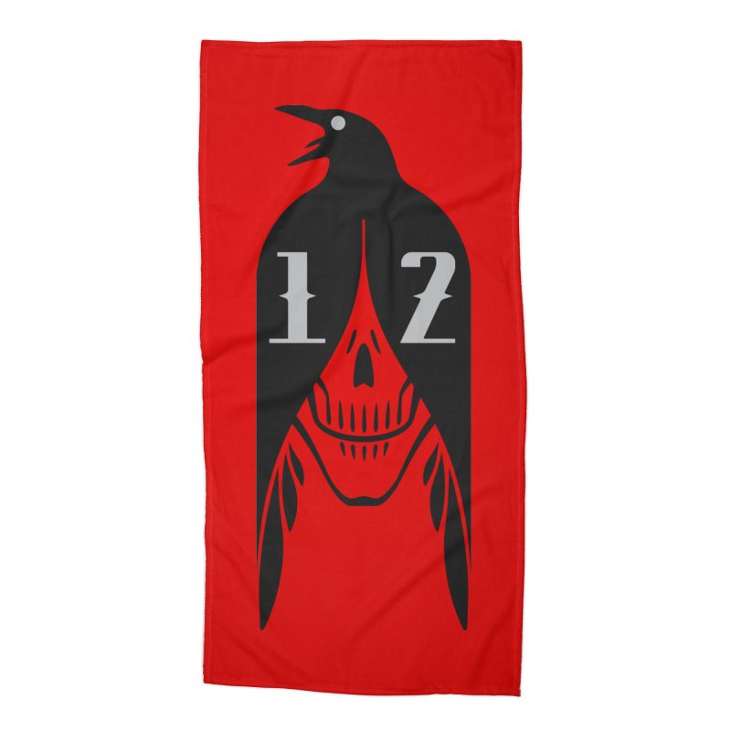 Raven Accessories Beach Towel by Mark Gervais