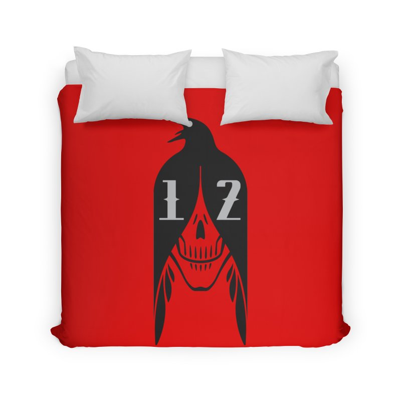 Raven Home Duvet by Mark Gervais