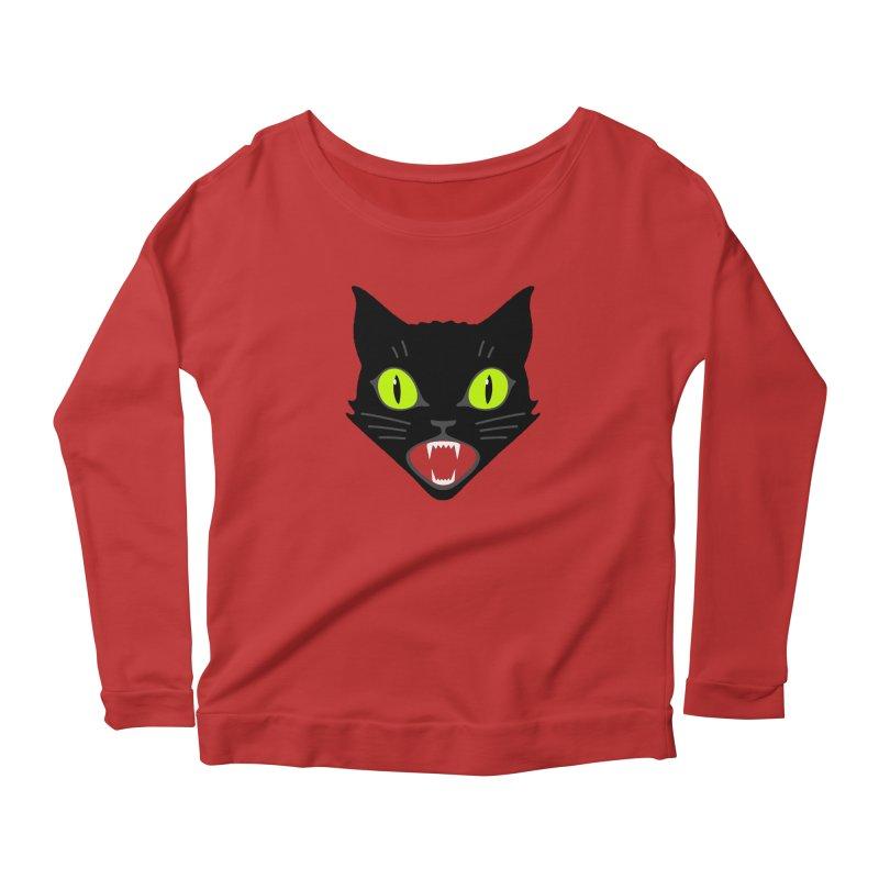 Lucky Women's Scoop Neck Longsleeve T-Shirt by Mark Gervais