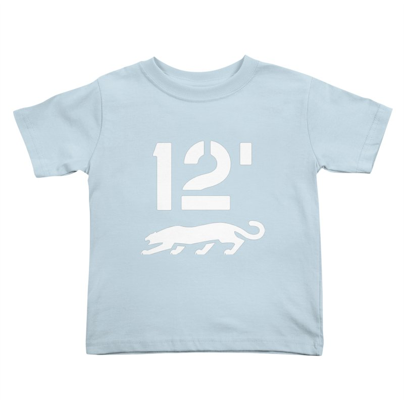 Classic 12' Stencil Kids Toddler T-Shirt by Mark Gervais