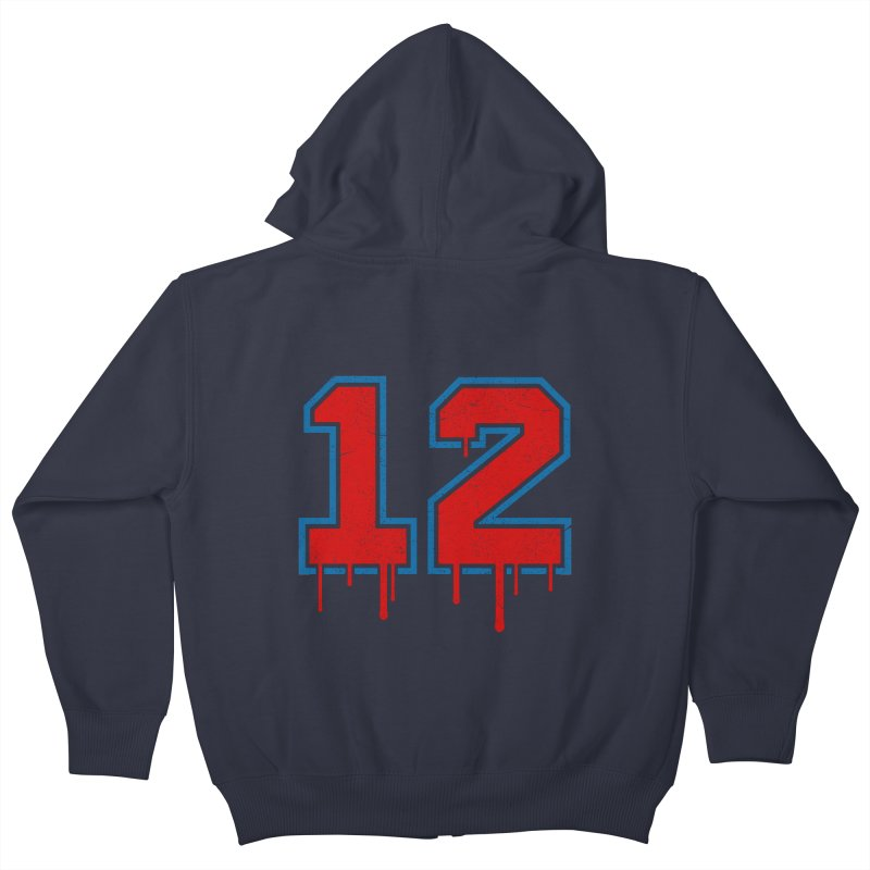 Drippy 12 Kids Zip-Up Hoody by Mark Gervais