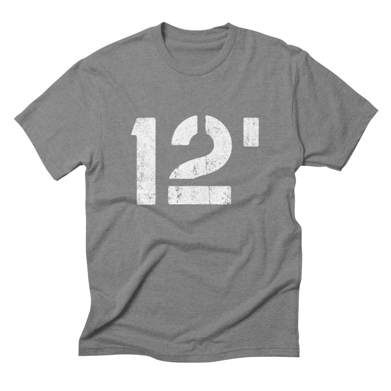 12' Men's Triblend T-shirt by Mark Gervais
