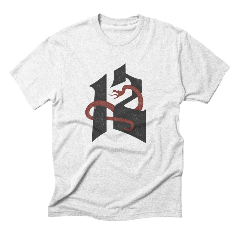 12 Snake Men's Triblend T-shirt by Mark Gervais