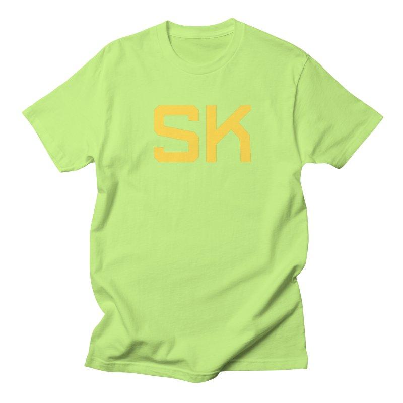 SK Men's Regular T-Shirt by Mark Gervais