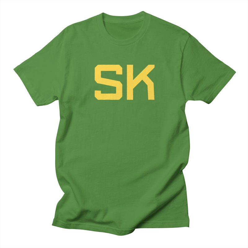 SK Men's Regular T-Shirt by Mark Gervais