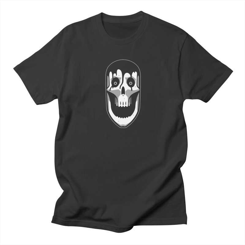 Skull Men's Regular T-Shirt by Mark Gervais