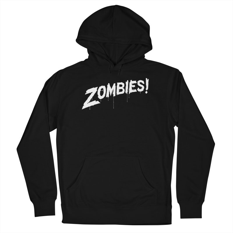 Zombies! Men's French Terry Pullover Hoody by Mark Gervais