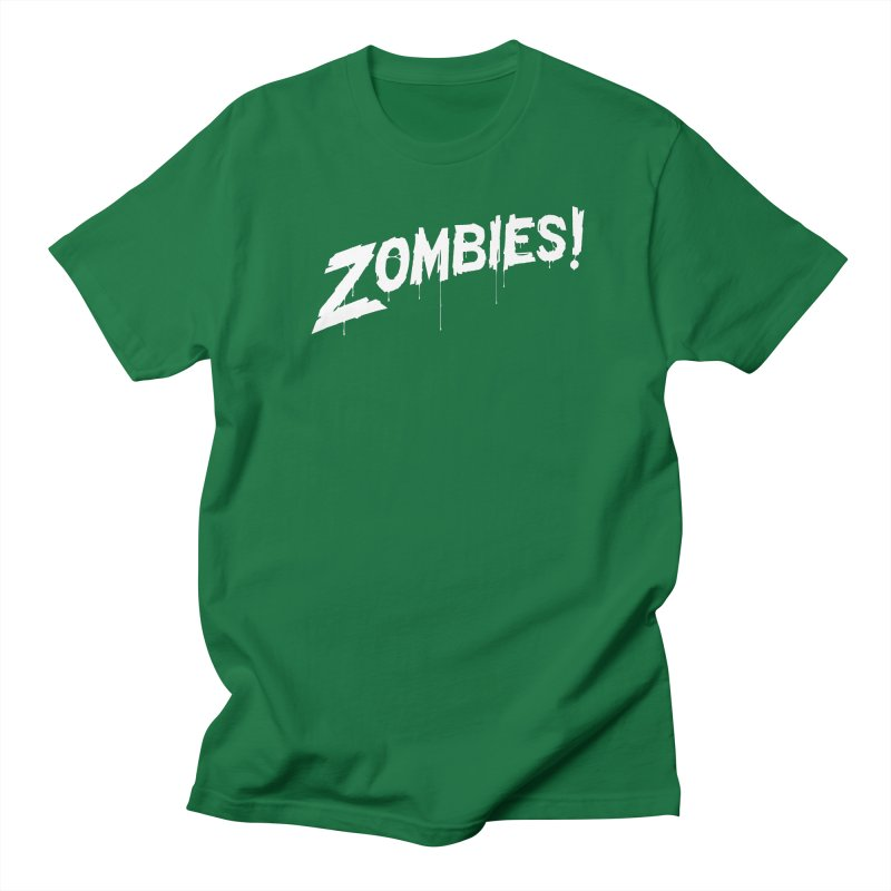 Zombies! Men's Regular T-Shirt by Mark Gervais