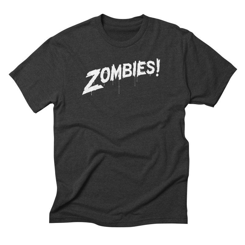 Zombies! Men's Triblend T-Shirt by Mark Gervais