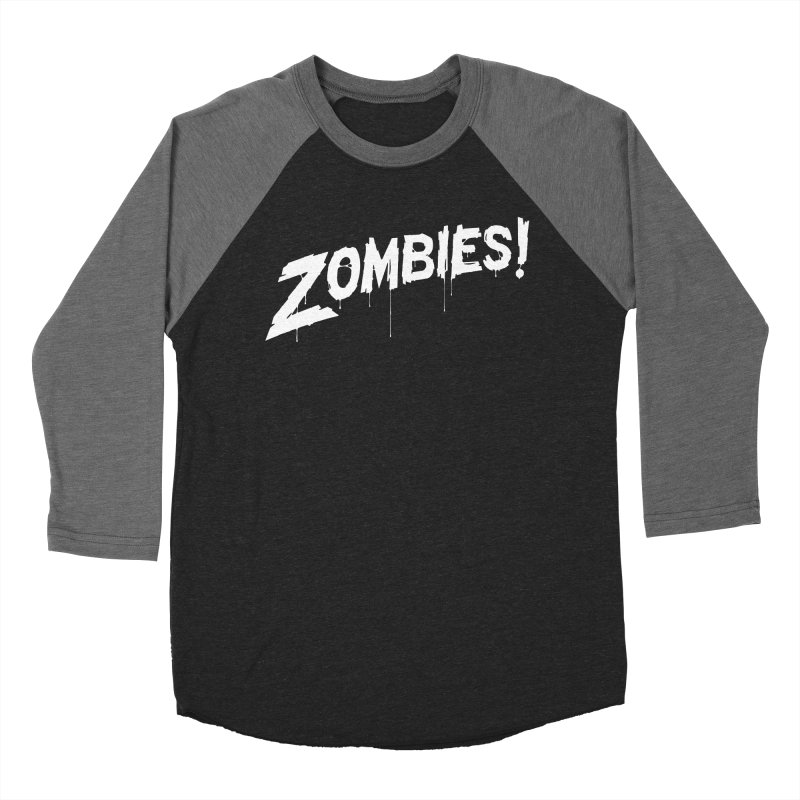 Zombies! Women's Baseball Triblend T-Shirt by Mark Gervais